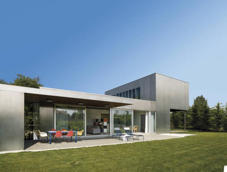 Siete Casas Con Fachadas De Metal