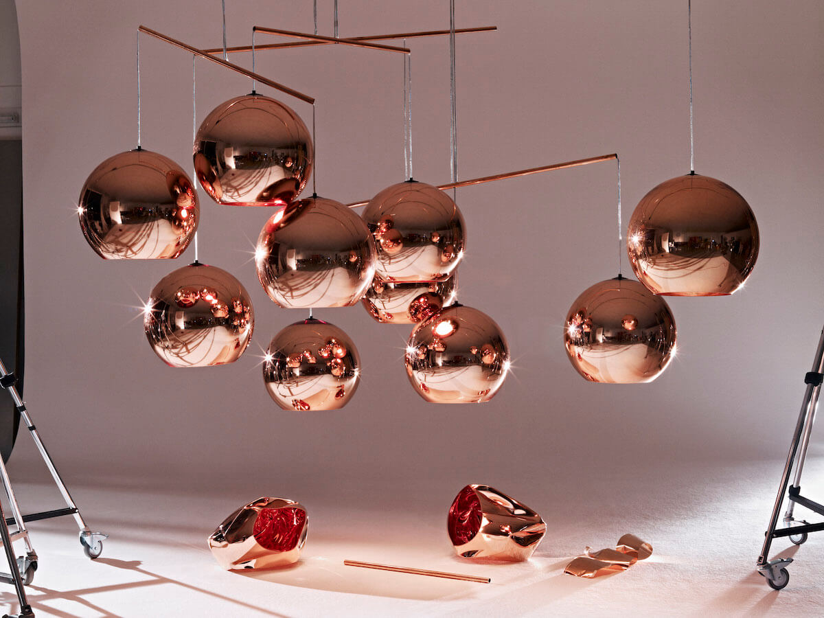 Copper Shade Multiples. Lámparas Copper (2005)