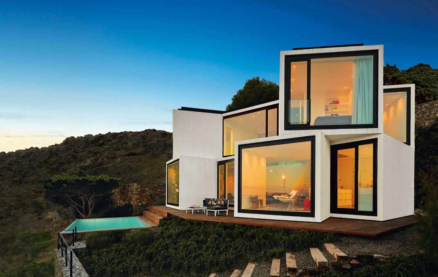 10 dise os de casas de arquitectura de formas geom tricas for Arquitectura y diseno de casas modernas
