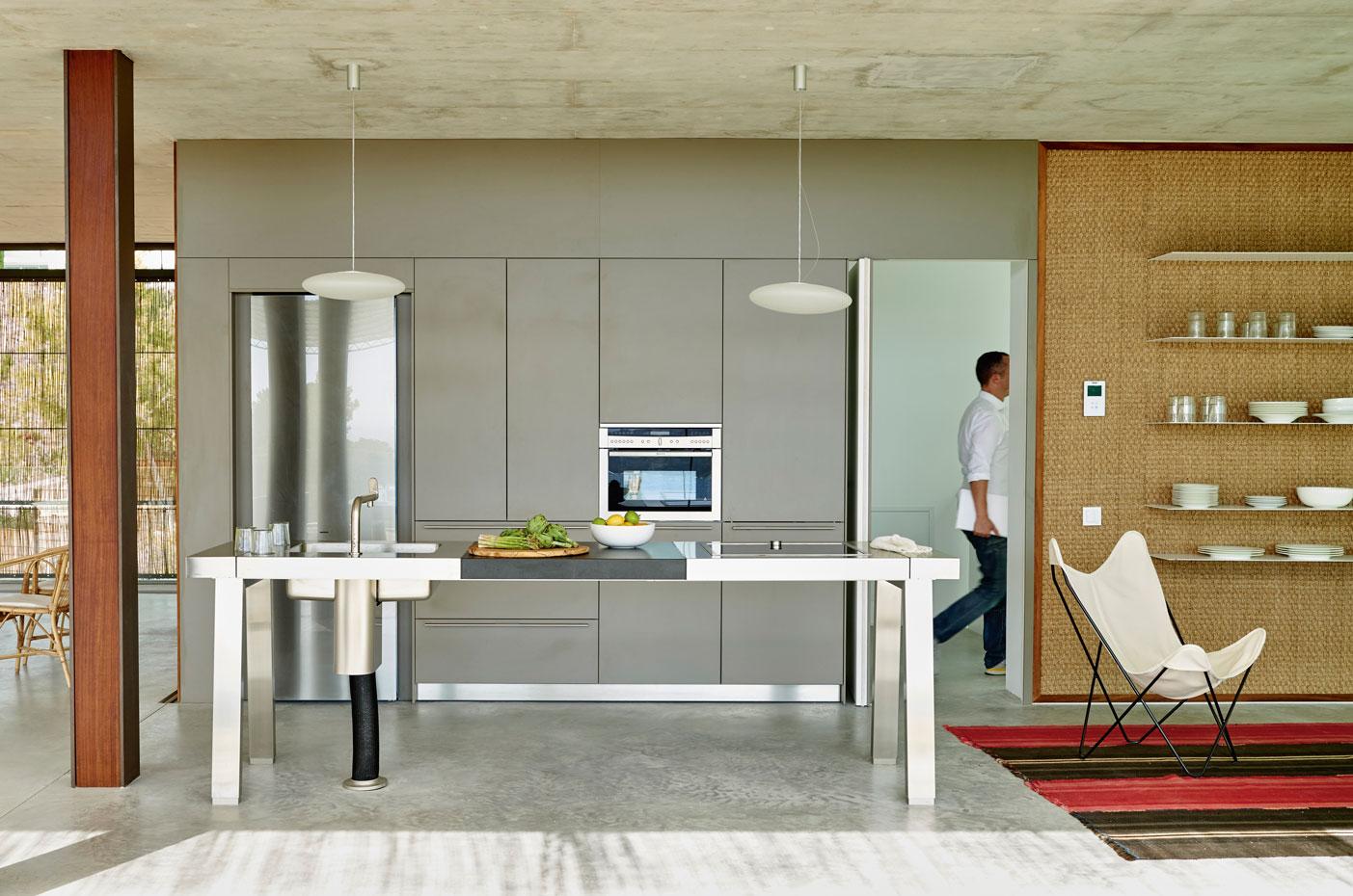 10 cocinas de estética industrial