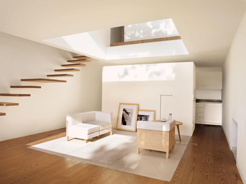 8 espectaculares casas modernas con lucernarios for Especialidad en diseno de interiores