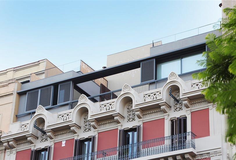 Los ticos prefabricados de la casa por el tejado - Aticos en barcelona ...