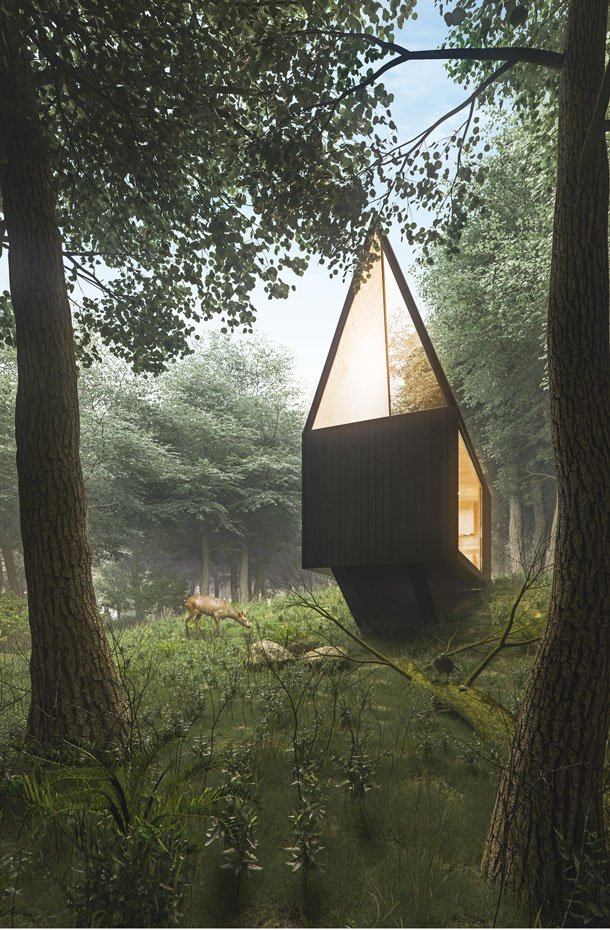 tomek michalski cabin in the forest 3. [08] El corazón del bosque