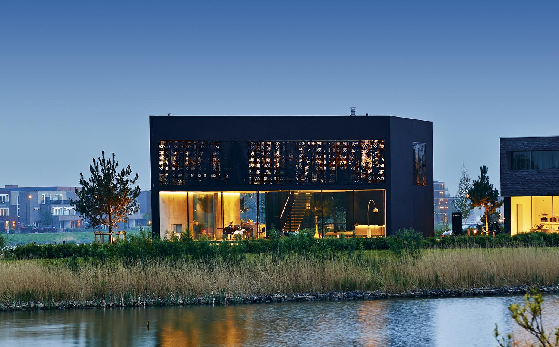 La moderna casa villa kavel en msterdam holanda de for Casa holandesa moderna