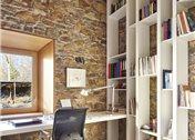 10 ideas para colocar tus libros y hacer la biblioteca for Sillas vitra imitacion