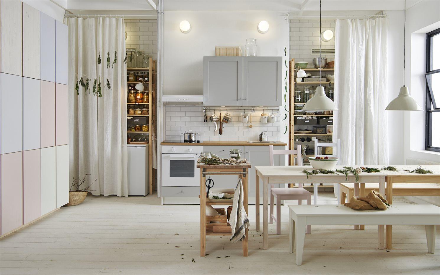 cocina knoxhultk con armario con puertas o cajones fregadero fyndig sifn lillviken