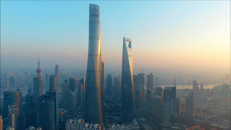 con sus metros la torre shanghai del estudio gensler es el segundo