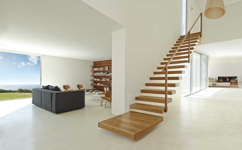 La virtudes del microcemento en casa - Combina colores en paredes ...