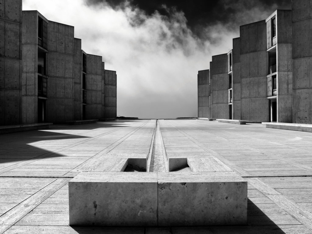 Salk Institute, La Jolla, California (EEUU, 1965), por Louis Kahn