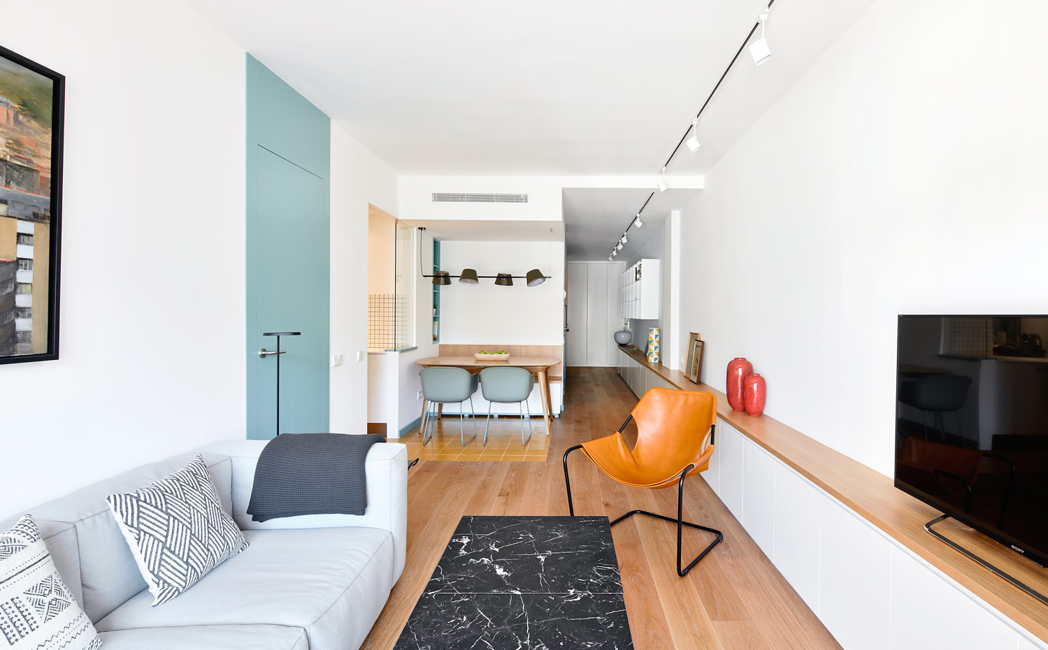 Reforma del piso 2DM en Barcelona por Bonba Studio