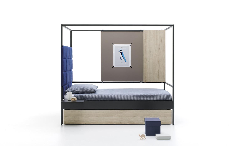Nook de carlos t scar para jjp un nuevo concepto de cama for Cama nido estructura