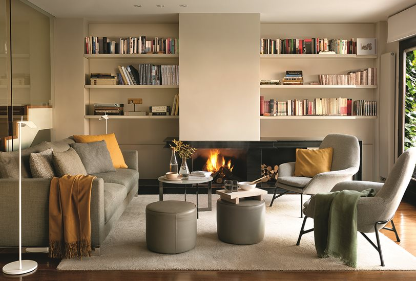 4 Buenos Consejos Para Crear Un Salon A Tu Medida - Muebles-de-mamposteria-de-salon