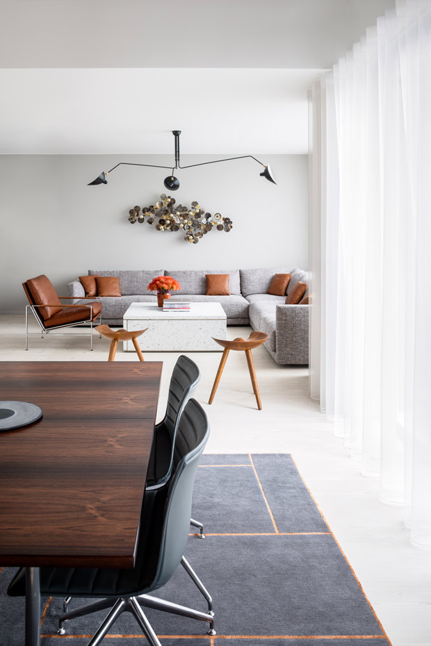 Apartamento De Diseño En Copenhague Dinamarca De David Thulstrup