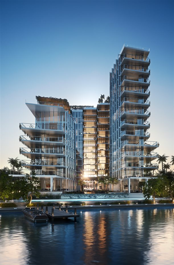 Monad Terraces, por Jean Nouvel Miami