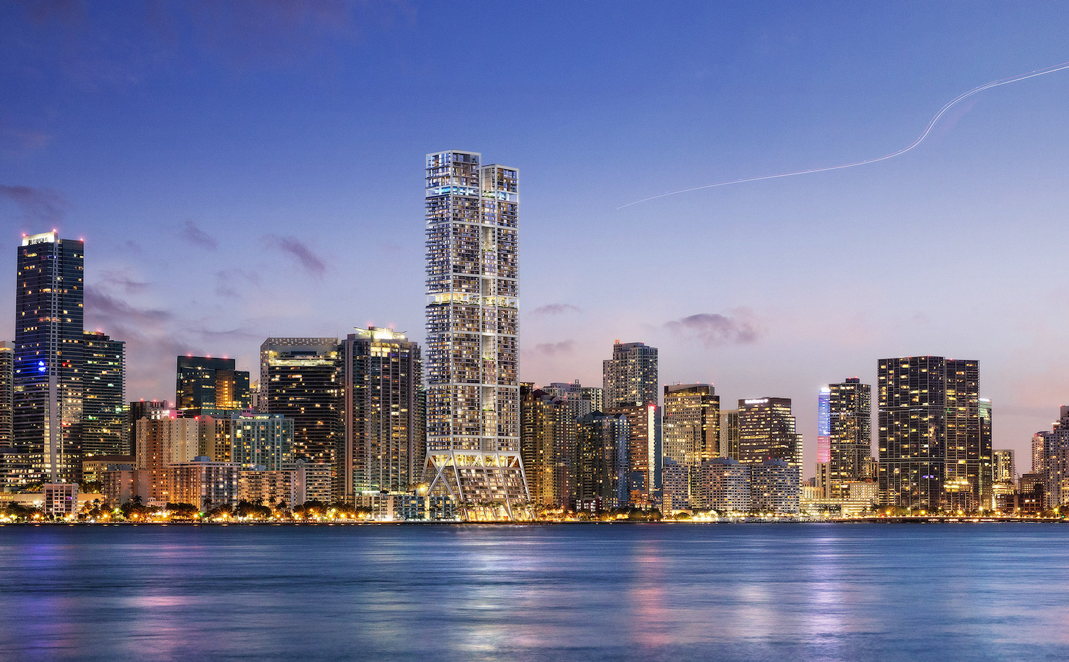 The Towers, por Foster+Partners Miami
