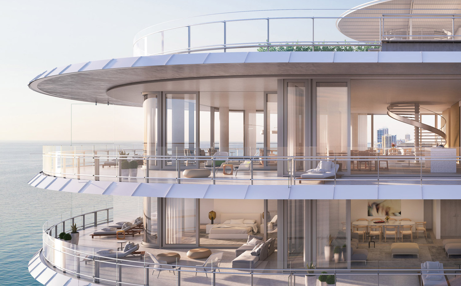 Eighty Seven Park, por Renzo Piano Miami