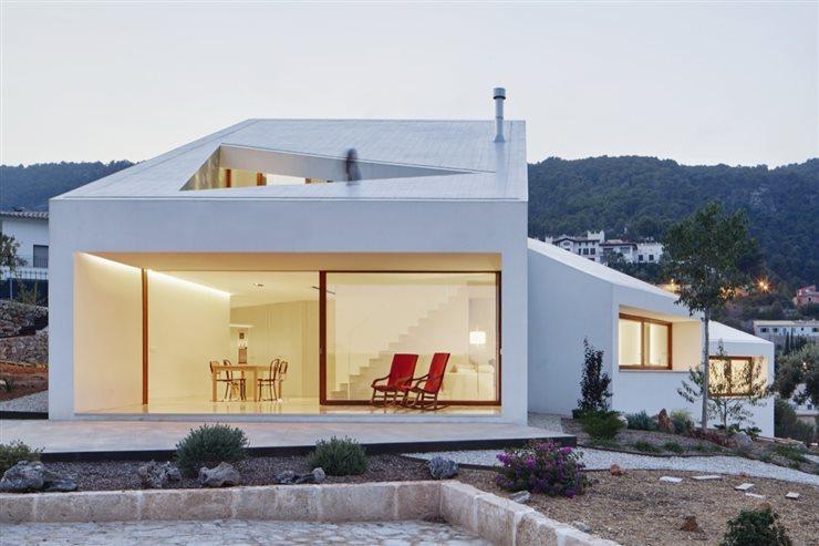 Las 10 Casas Con Mas Visitas En 2016 De Arquitectura Y Diseno - Arquitectura-de-casas