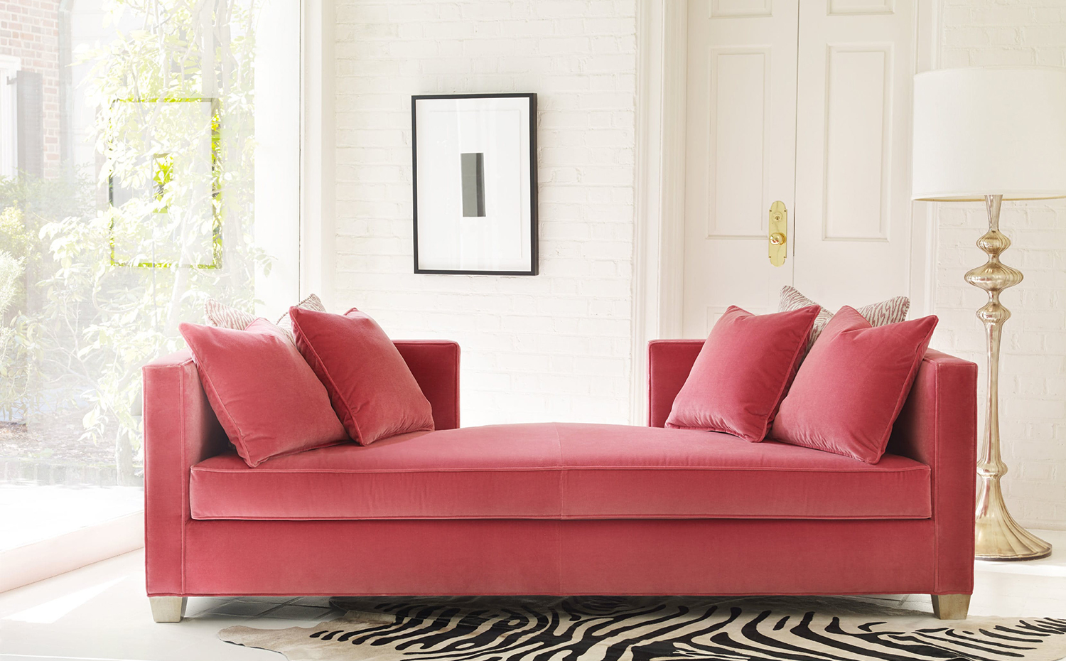 Cynthia Rowley for Hooker Furniture Coco Daybed. Coco Daybed, de Cynthia Rowley para Hooker Furniture