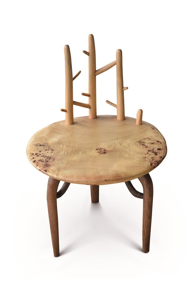 ZHILONG ZHENG. Zhilong Zheng, China. 'Tree Chair', madera