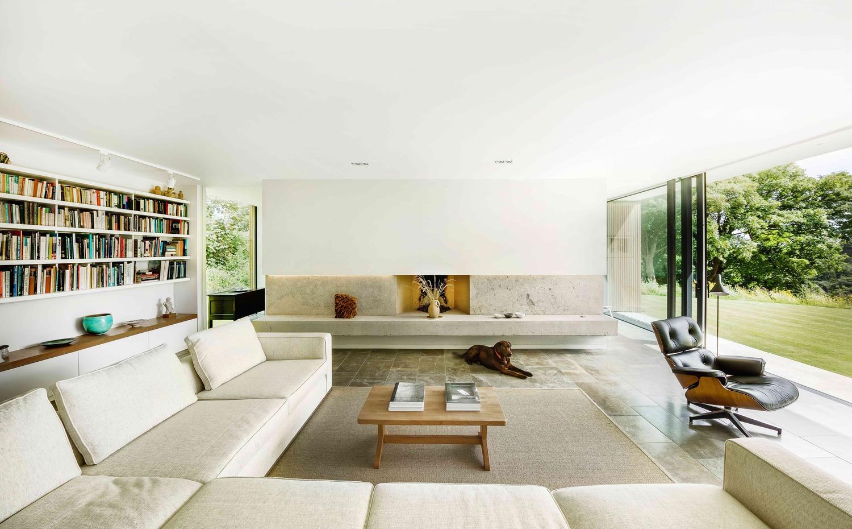 casa moderna de diseño en el sur del Reino Unido