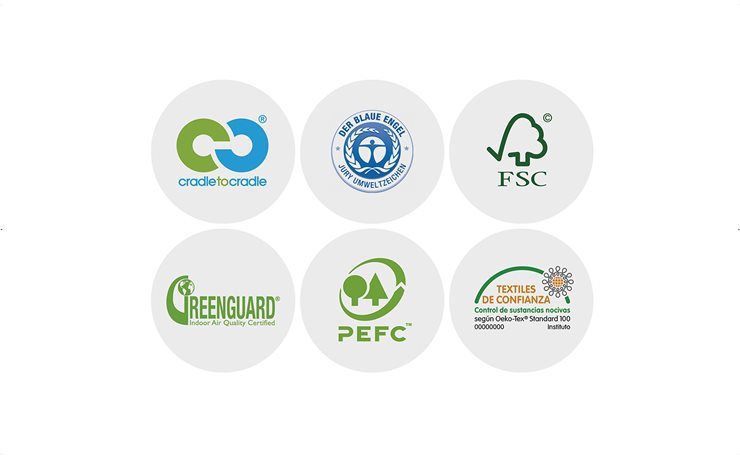 Estas son algunas de las certificaciones ecológicas más importantes y habituales para productos de interiorismo