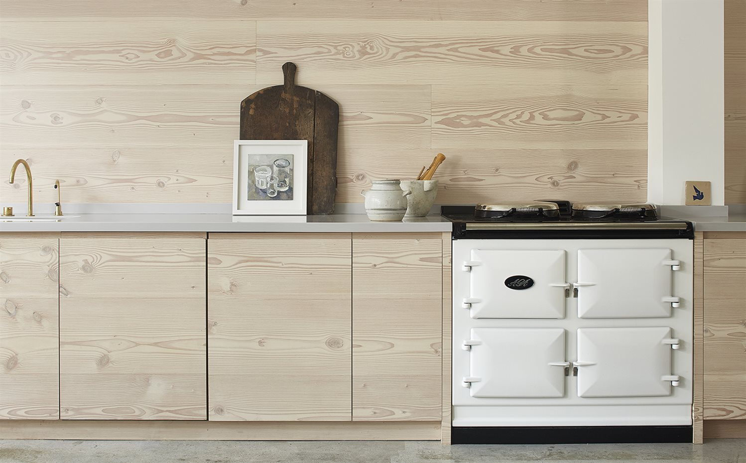 Scandinavian-pale-wood-kitchen-Blakes-London-House-of-Grey-5. Cocina de estilo escandinavo con la madera como protagonista