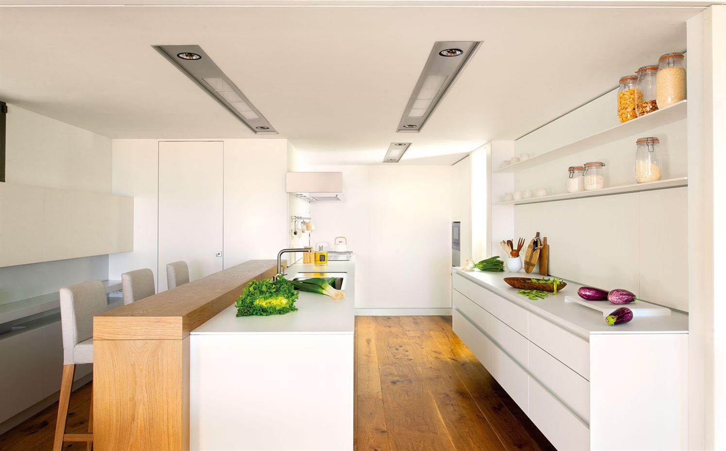 Pintar de blanco la mejor soluci n para reformar la cocina - Precios encimeras cocina ...