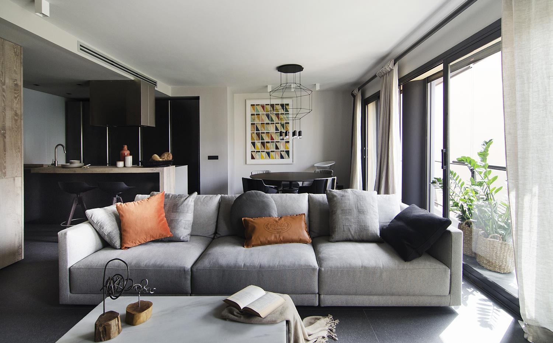 Un piso de elegante serenidad for Jean marie salon