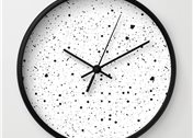 Reloj Speckled de Society 6