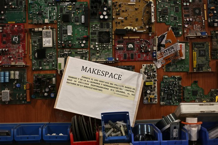Espacio Makespace de Madrid