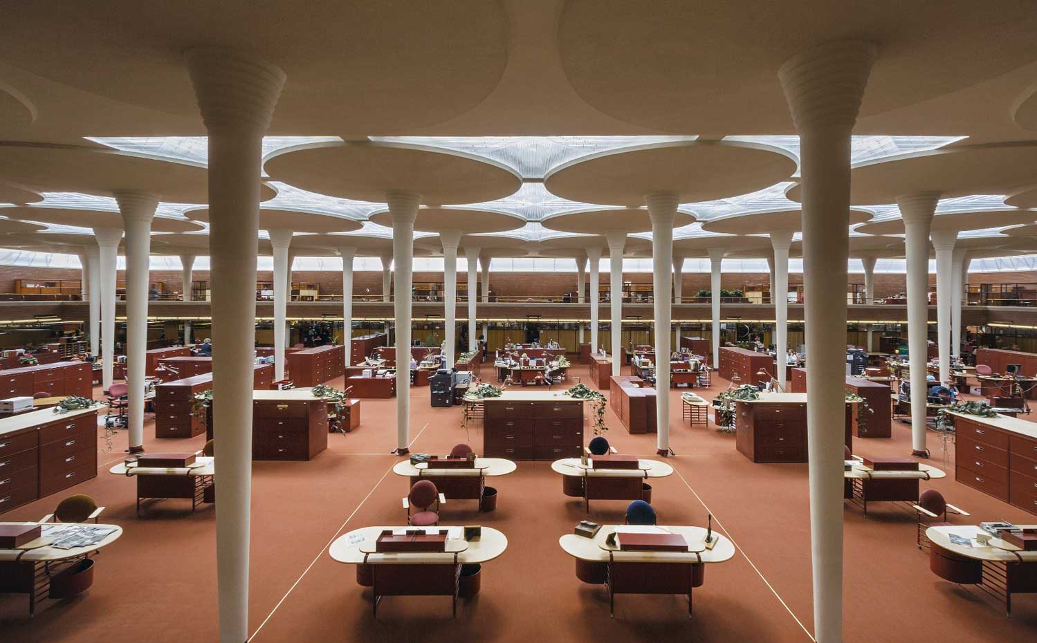 Edificio Johnson Wax Frank Lloyd Wright