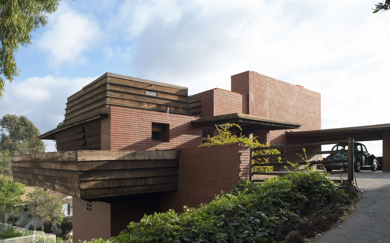George Sturges residence en Los Angeles (1939) Frank Lloyd Wright