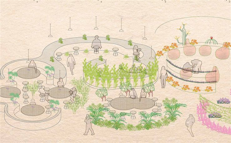 Propuesta El Semillero, de los estudiantes de arquitectura de la Universidad Rey Juan Carlos I de Madrid