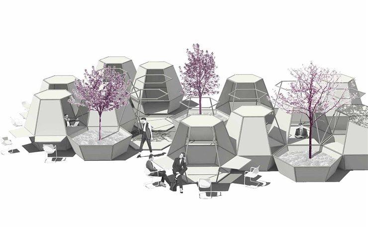 Proyecto Hex-ecutive, de alumnos de máster de la Escuela Técnica Superior de Arquitectura de Valencia