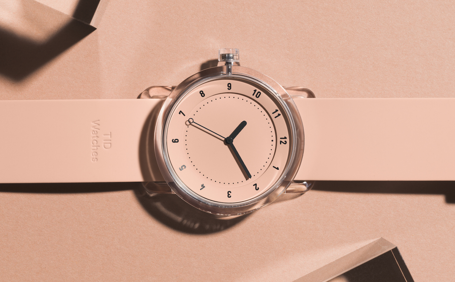 tid-no3-campaign-pink-press. Reloj No. 3 de TID