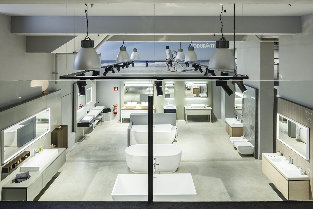 Pop Up Store de Duravit (Trafalgar 51, Barcelona)