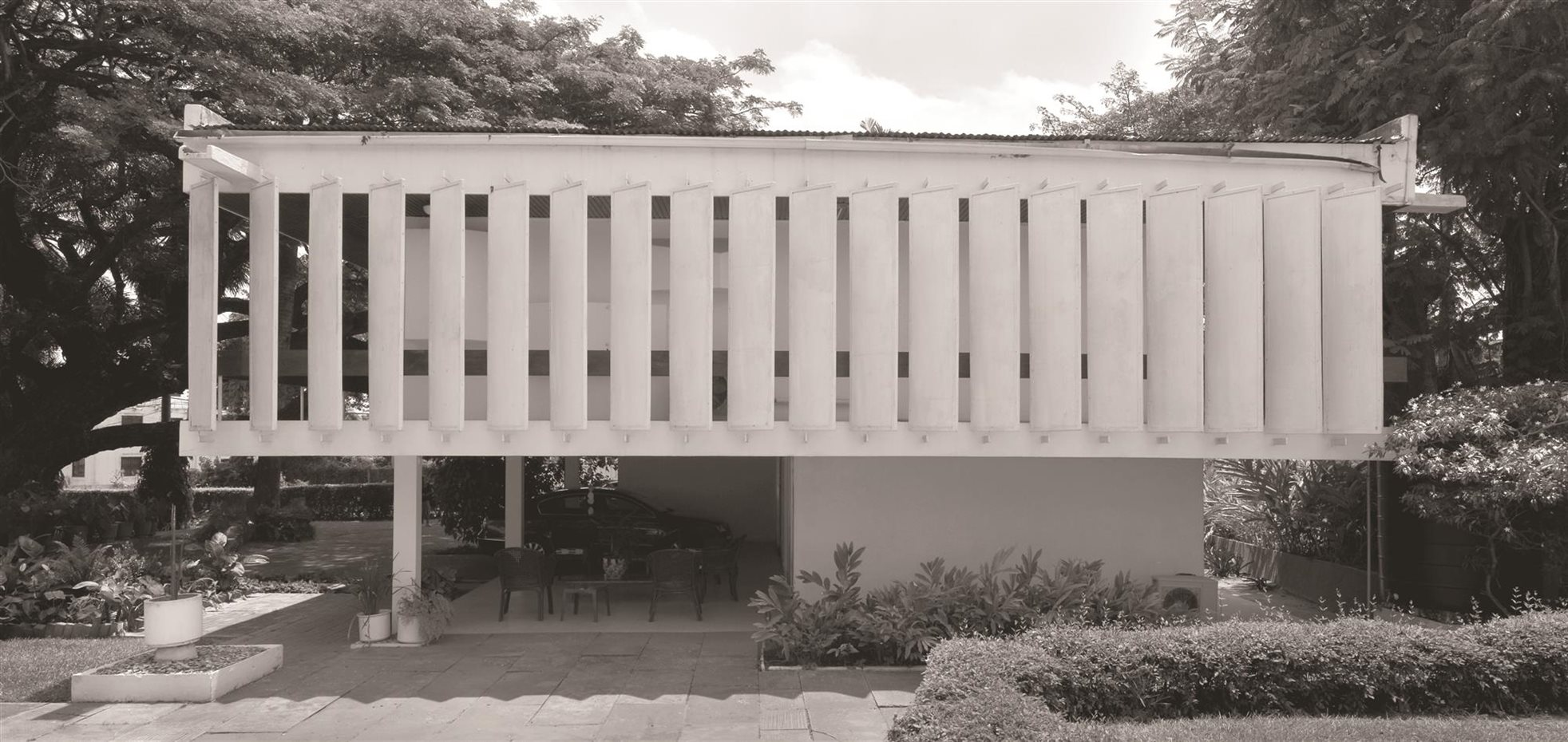 Kenneth Scott: Scott House, Accra, Ghana, 1961
