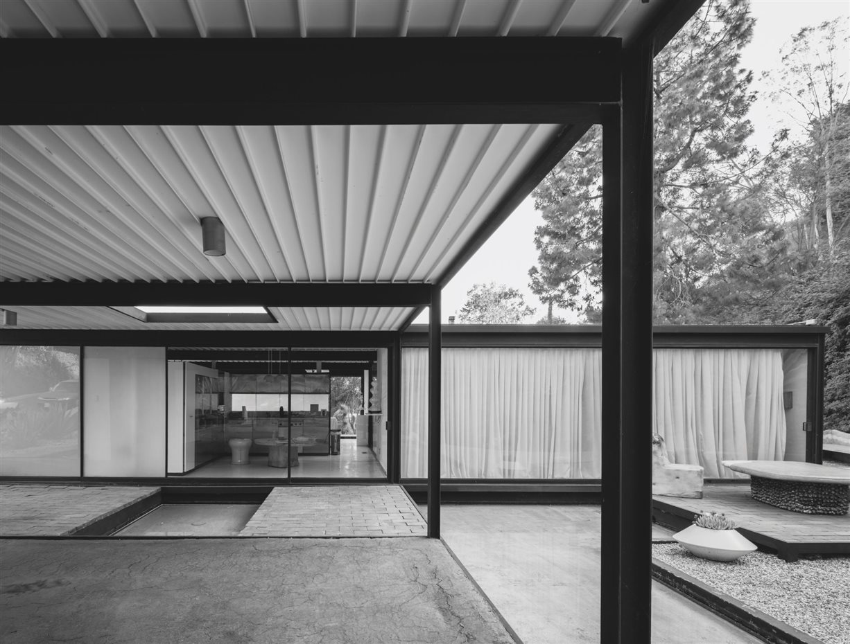 Pierre Koenig: Bailey House (Case Study House #21), Los Angeles, EEUU, 1958