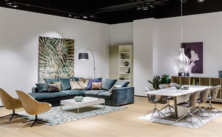 boconcept de vuelta en el barrio de salamanca. Black Bedroom Furniture Sets. Home Design Ideas