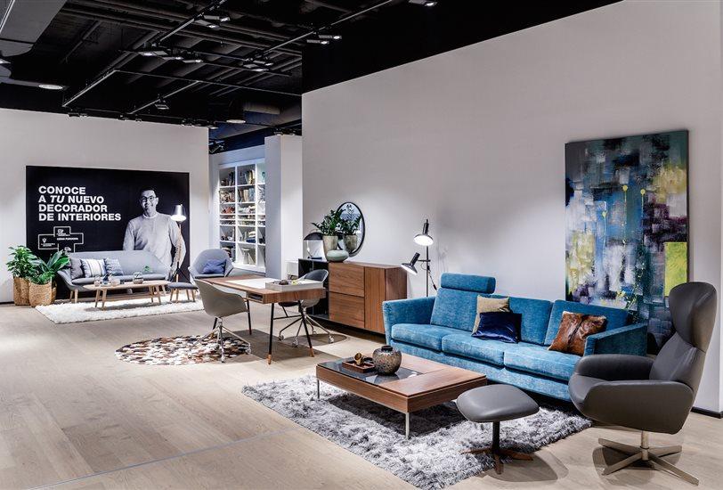 boconcept de vuelta en el barrio de salamanca. Black Bedroom Furniture Sets. Home Design Ideas