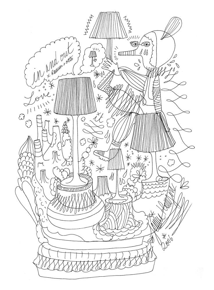 Ilustración de Jaime Hayon.