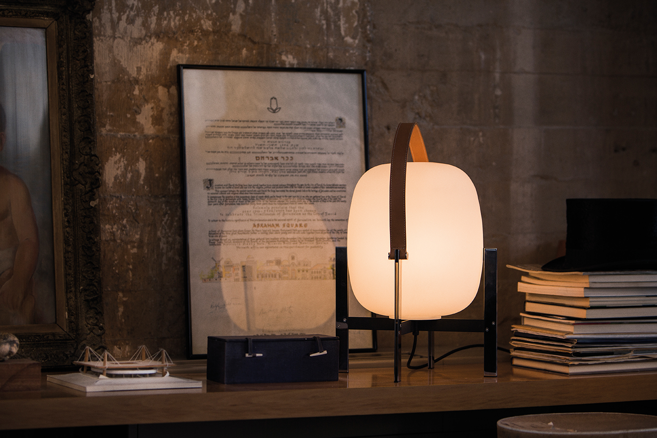 SANTACOLE TABLE LAMPS Cesta Metalica Pericas  Carlos 14.