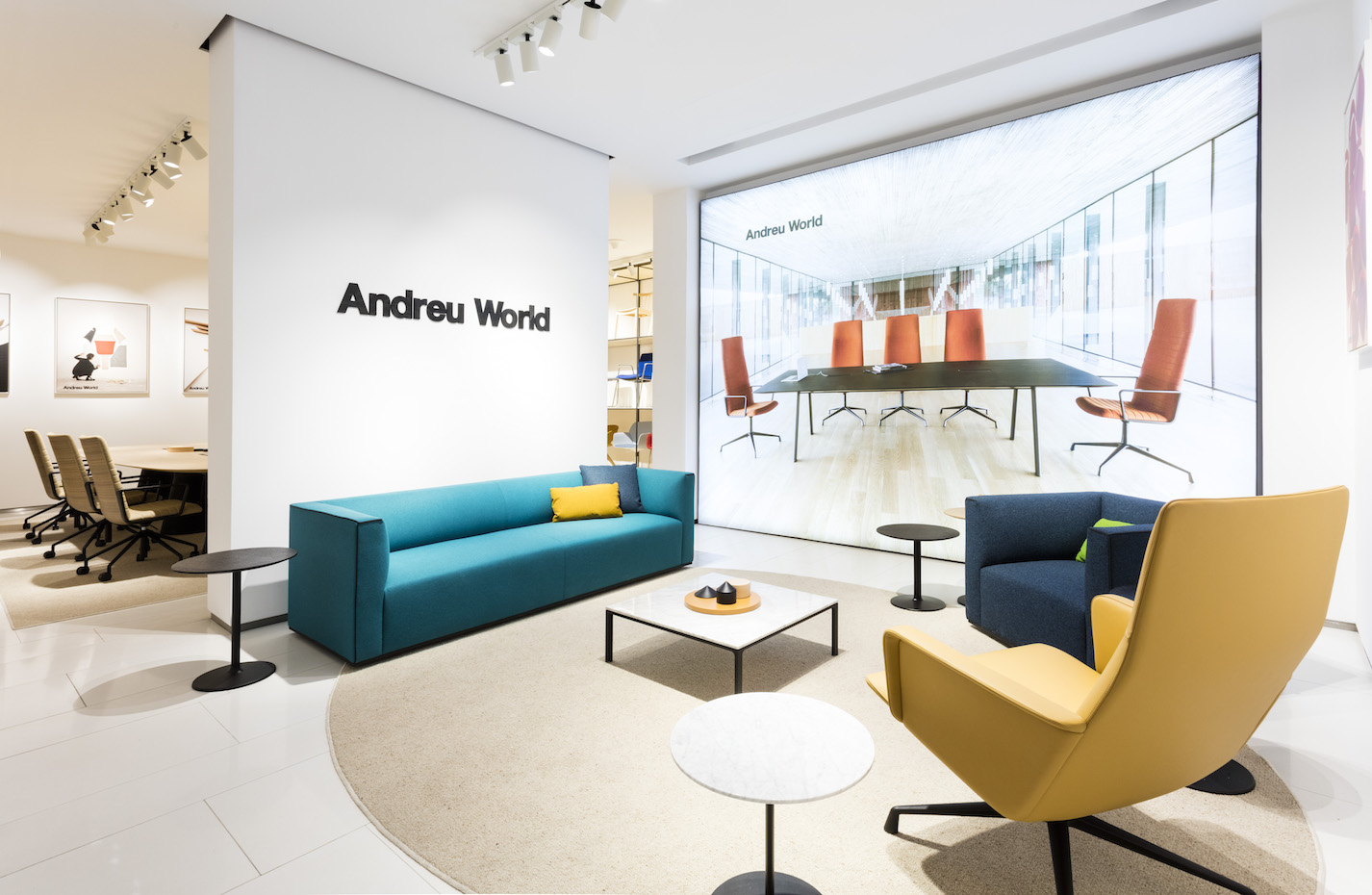 'Showroom' de Andreu World en Madrid.