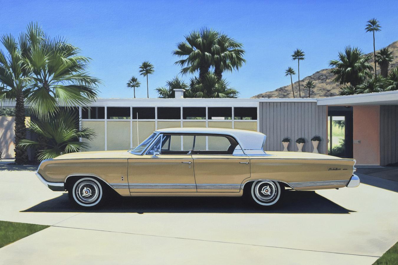 Mercury in Driveway.