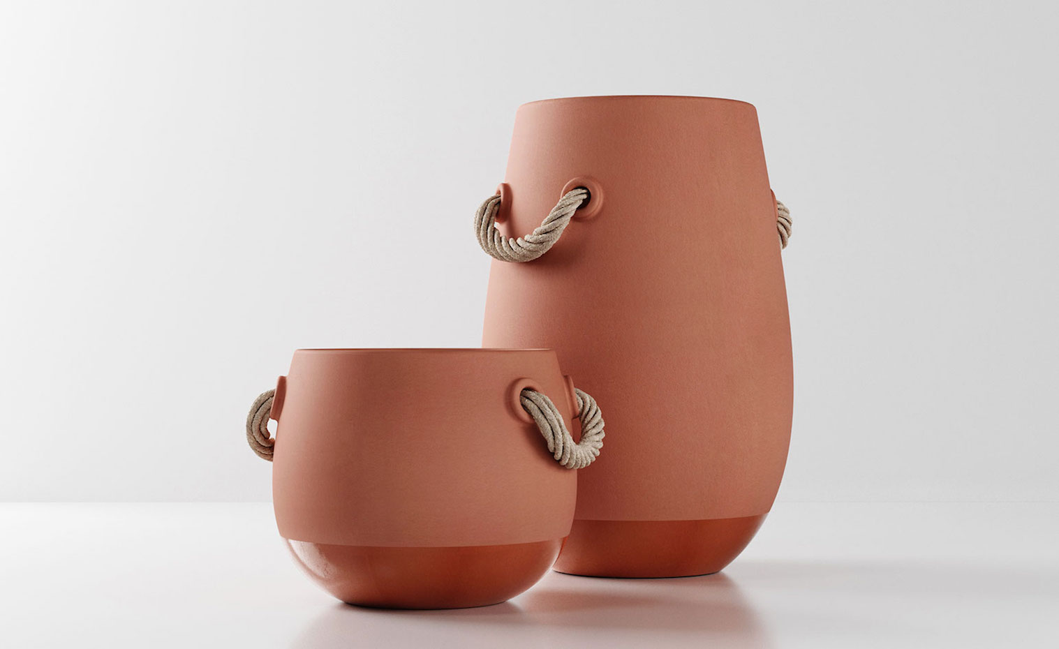 De las vasijas Silos, en terracota, emana un aire ancestral.