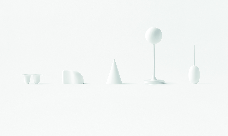 La colección completa de Air Lids, Nendo