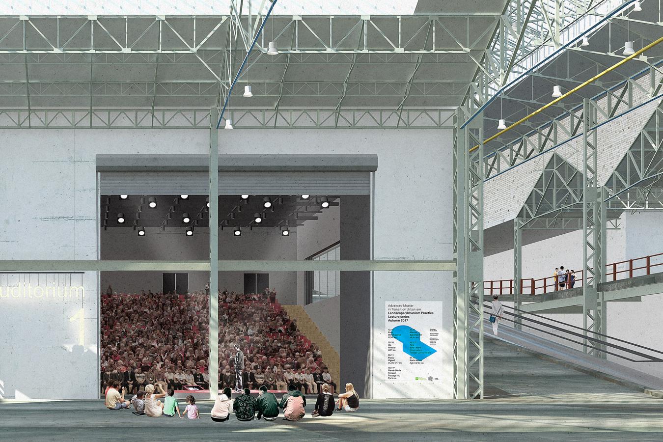"""El proyecto se ha denominado """"Un escenario para Bruselas""""."""