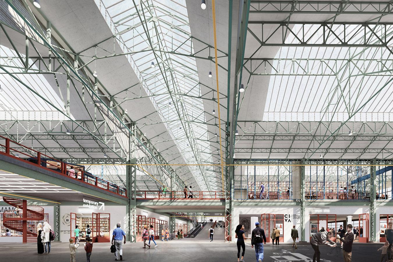 El edificio se inaugurará en 2022.
