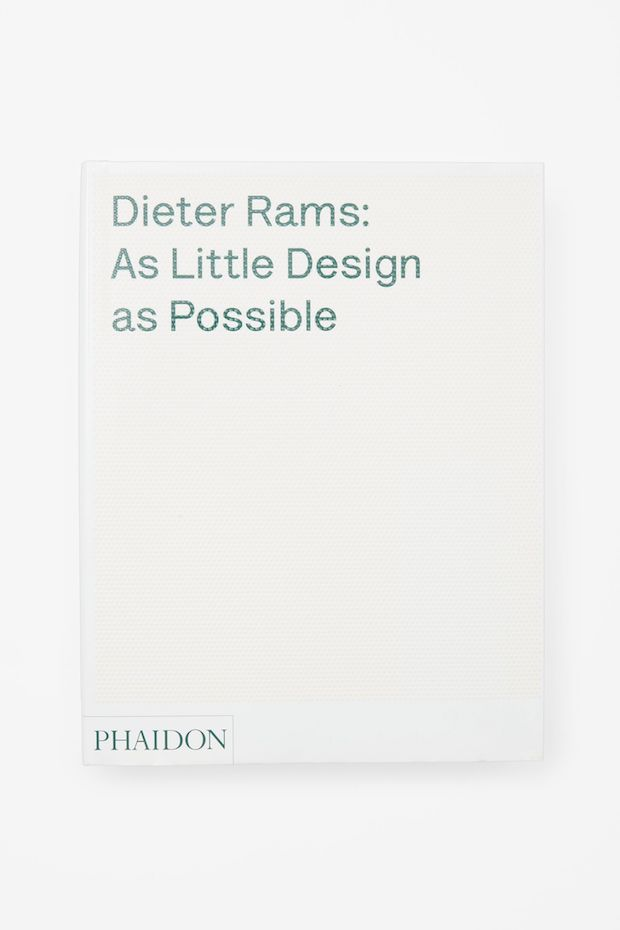 As little design as possible de Dieter Rams Libros para amar la arquitectura