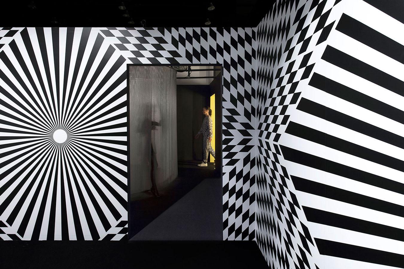 Los sonidos acompañan a las ilusiones ópticas.